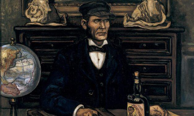 """El capitán de barco mercante o El capitán mercante"" (hacia 1930-1934), de José Gutierrez Solana"