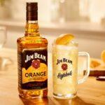 Jim Beam presenta un licor de Bourbon con sabor a naranja, Jim Beam Orange