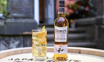 Dewar's lanza un whisky japonés suave de 8 años madurado en barricas de roble Mizunara, Dewar's Japanese Smooth