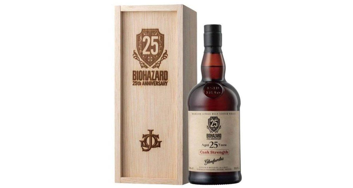 Resident Evil celebra su 25º aniversario con un whisky escocés especial de Glenfarclas