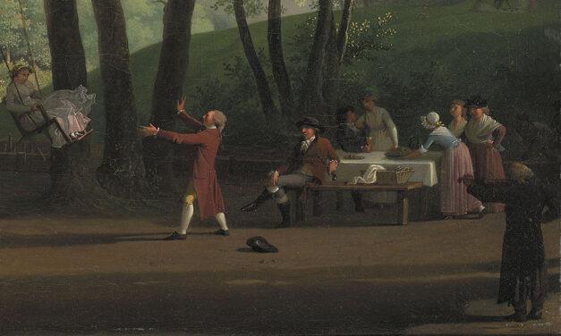 """""""Fiesta en el campo"""" (sobre 1800), de Jens Juel"""