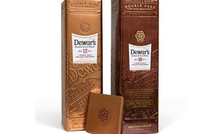 Dewar's presenta un nuevo envase metálico para sus principales whiskies