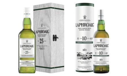 Laphroaig lanza la edición 2021 de sus whiskies de 10 y 25 años Cask Strength