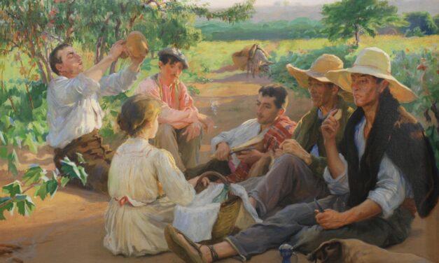 """""""Pagesos de Llavaneres"""" (1911), de Laureano Barrau"""