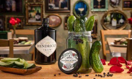 Hendrick's Gin y Katz's Deli se unen para crear un encurtido inspirado en la ginebra