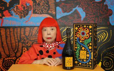 La Grande Dame X Yayoi Kusama, tributo vibrante de Veuve Clicquot