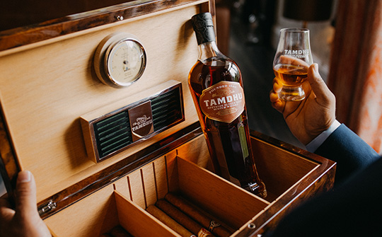 Tamdhu lanza el whisky Cigar Malt