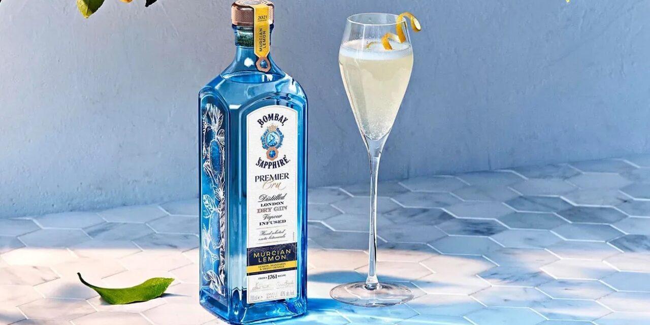 Bombay Sapphire lanza la ginebra Premier Cru Murcian Lemon