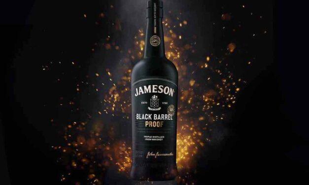 Jameson presenta una edición limitada de su whisky Black Barrel Proof