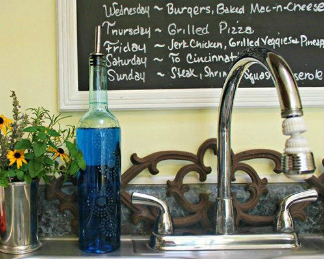 Vino reutilizar botella jabón