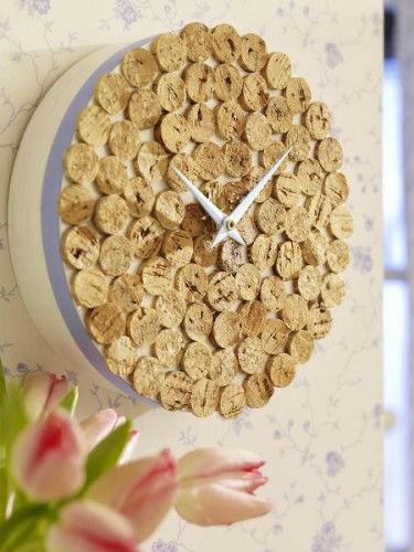 Reloj corcho 2