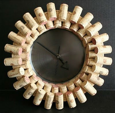 Reloj corcho