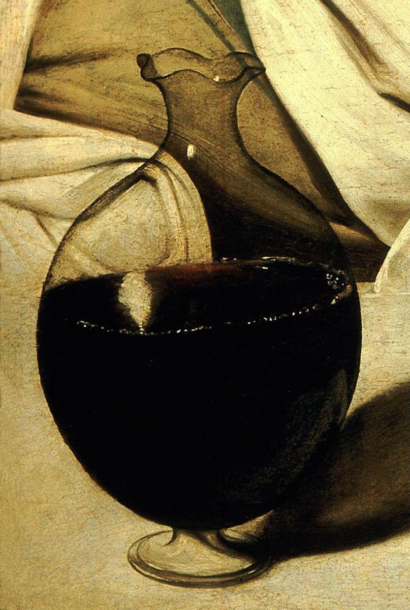 Baco Caravaggio jarra