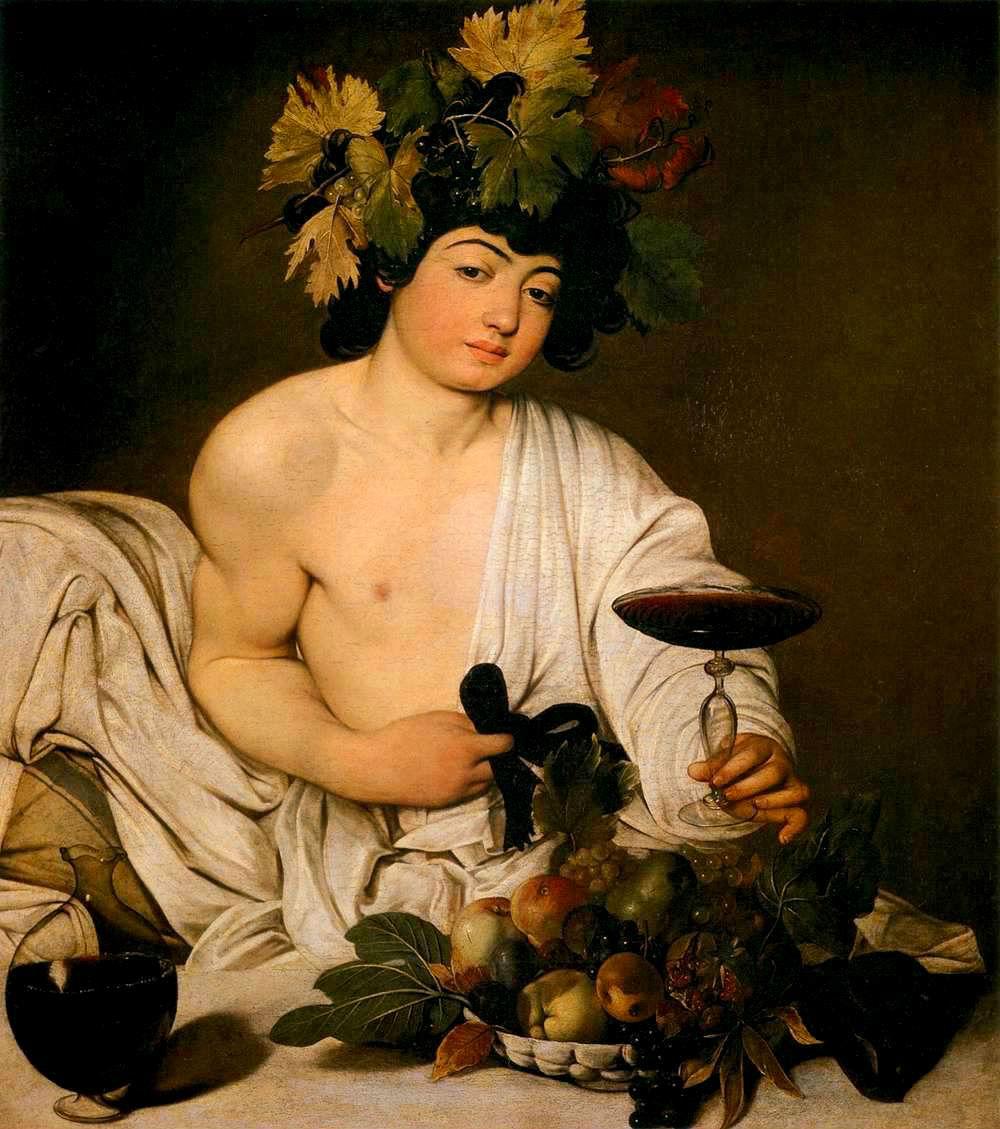 """""""Baco"""" (1596-1598), de Caravaggio"""