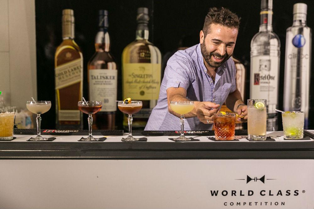 Los mejores bartenders de Europa se entrenan en Madrid