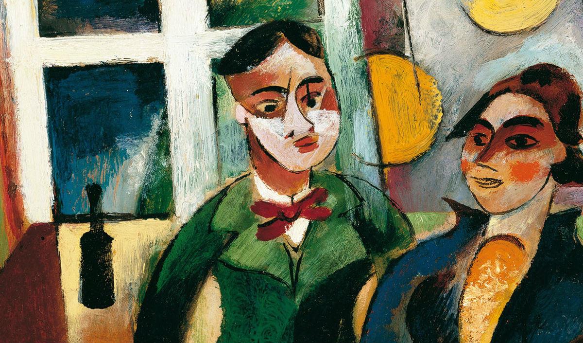 """""""Joven Pareja"""" (1915), de Heinrich Campendonk"""