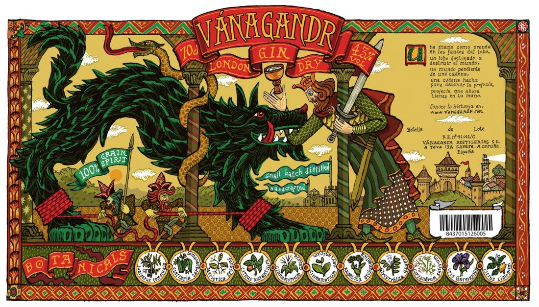Vánagandr Gin, historia y tradición en una ginebra 100% gallega