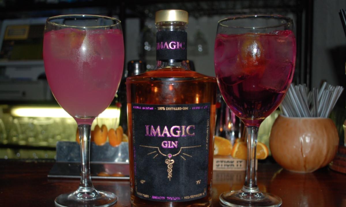 Imagic Gin, la única ginebra que cambia de color