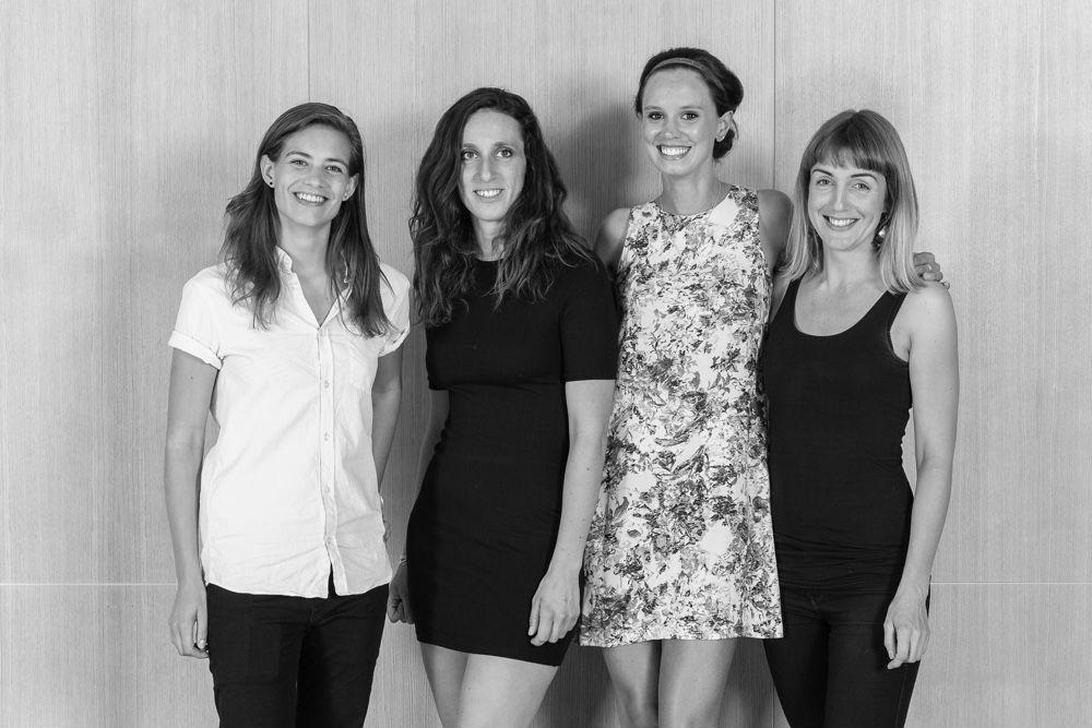 Cuatro finalistas mujeres
