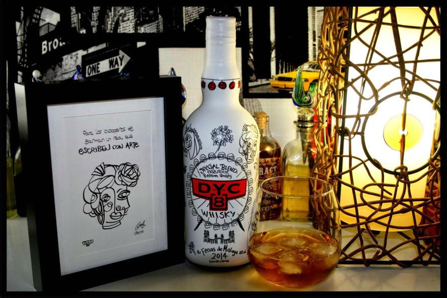 Un whisky para quienes disfrutan de la Feria con mucho arte