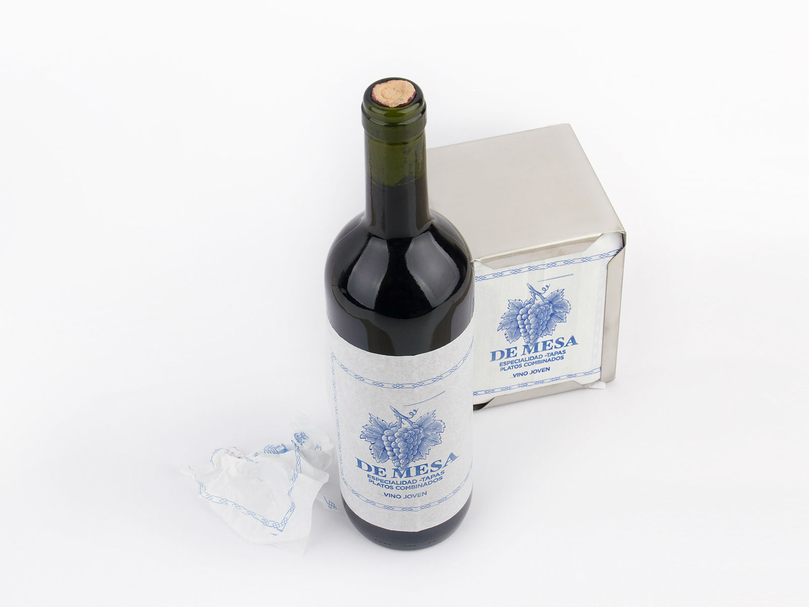 De Mesa Vino Packaging Wine