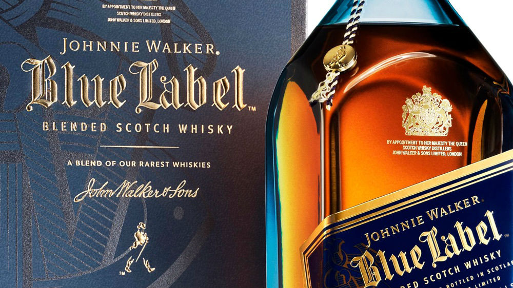 Johnnie Walker Blue Label, un whisky único