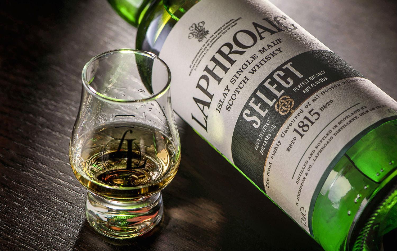Maxxium trae Laphroaig Select, whisky de carácter único