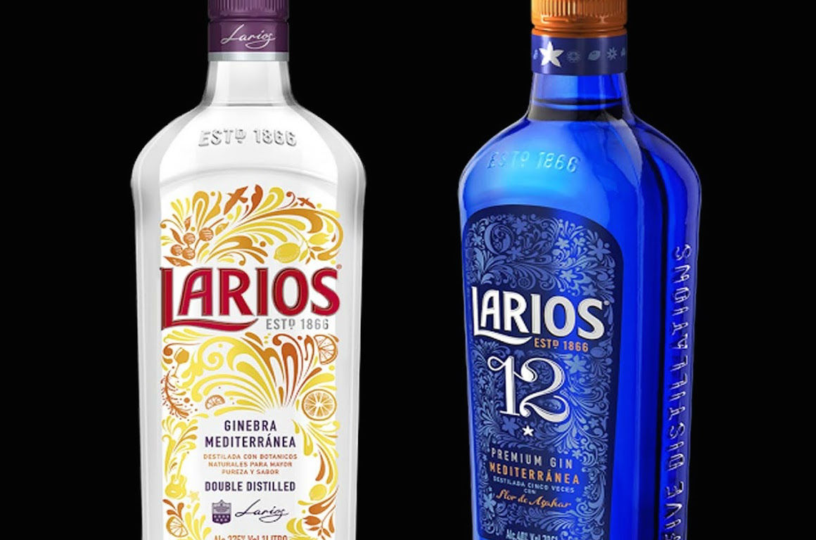 Espíritu Mediterráneo en las nuevas botellas de Larios