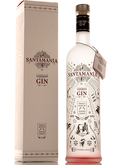 London Dry Gin SANTAMANIA