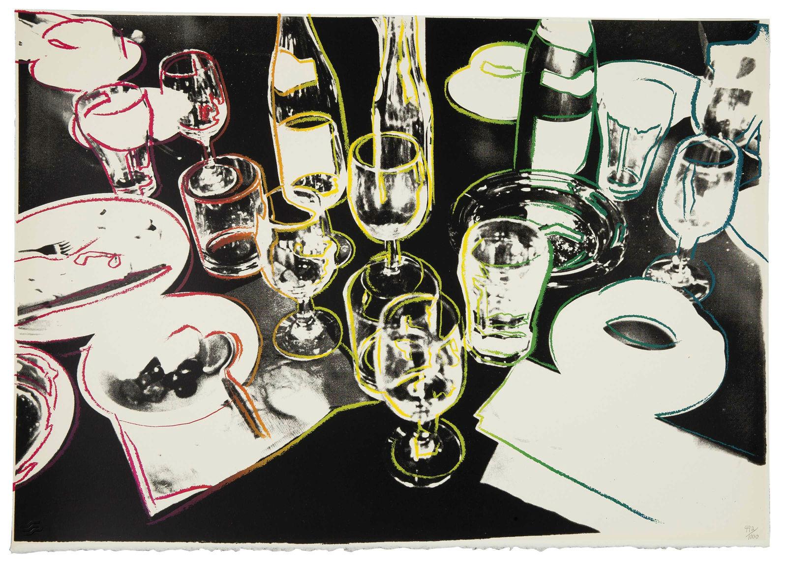 """""""Después de la fiesta"""" (1979), de Andy Warhol"""