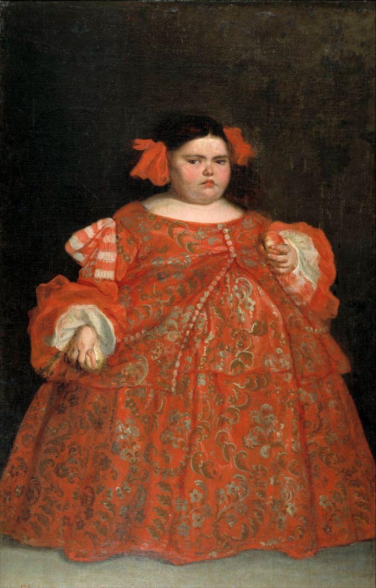 """""""Eugenia Martínez Vallejo, vestida"""", de Juan Carreño de Miranda"""
