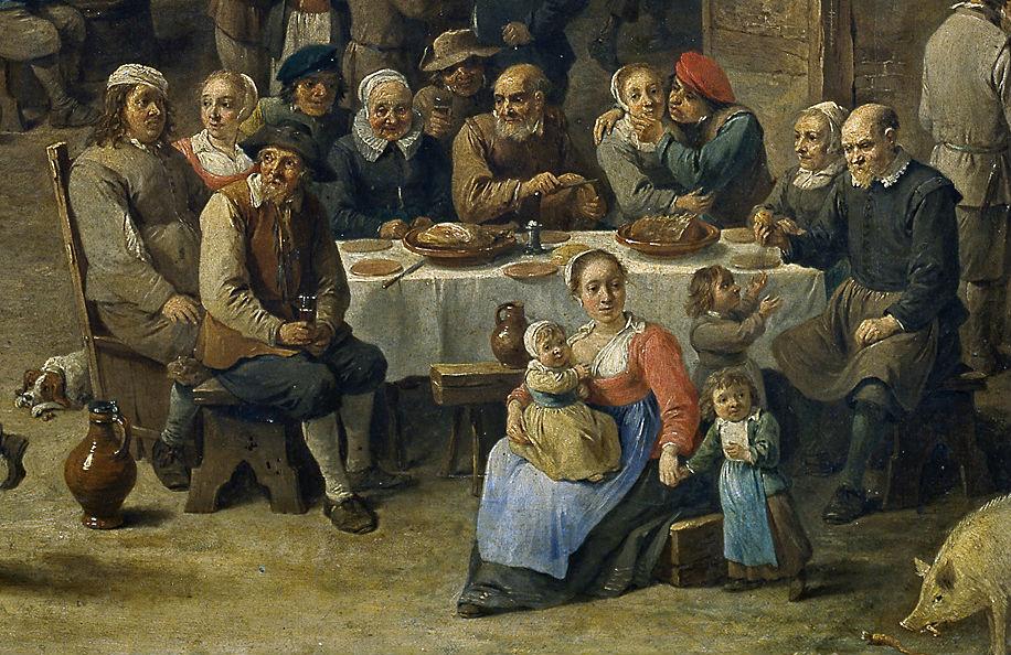 """Fiesta campestre"" (1647), de David Teniers"
