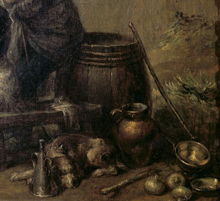 """Veterano narrando aventuras"" (1830), de Leonardo Alenza 2"