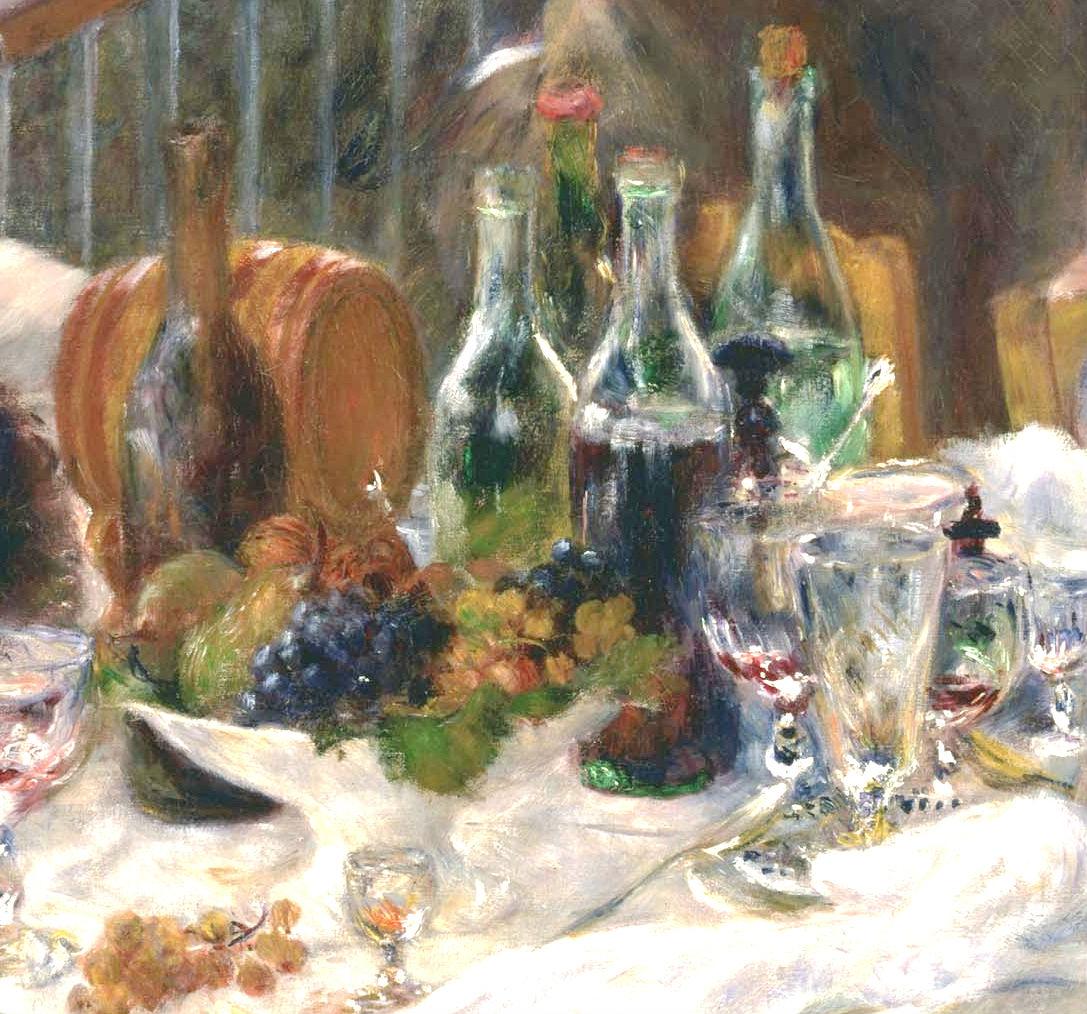 """""""El almuerzo de los remeros"""" (1880-81), de Pierre-Auguste Renoir"""