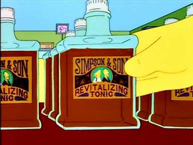 Mondrian Simpsons vino packaging 3