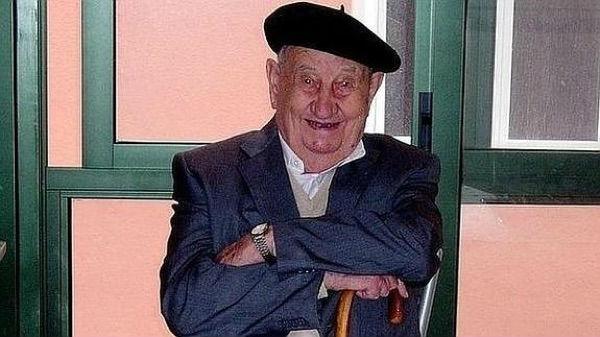 El español que solo bebió vino en su vida, muere con 107 años