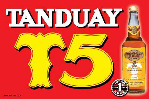 Tanduay ranking
