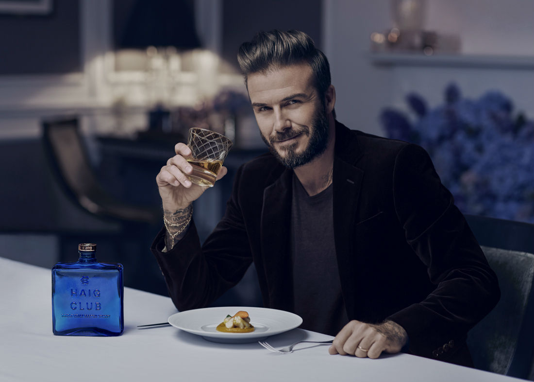 David Beckham y Diageo presentan HAIG CLUB