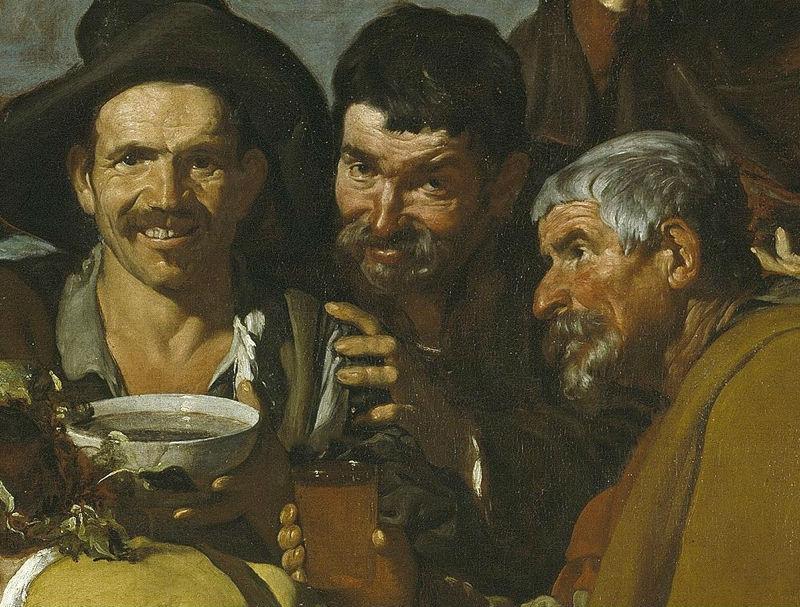 """""""El triunfo de Baco"""" (1628-1629), de Diego Velázquez"""