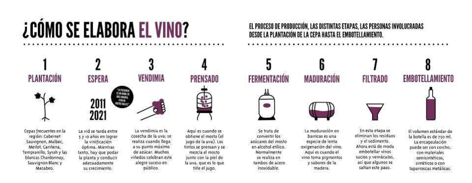 ¿Cómo se elabora el vino?