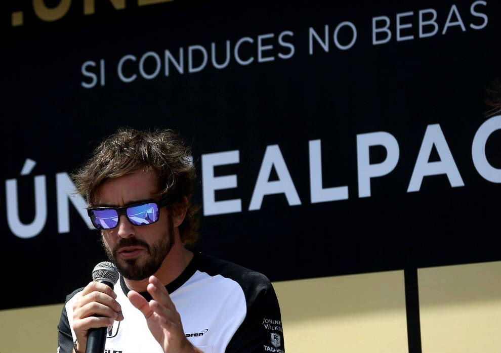 Fernando Alonso y Diageo se unen para acabar con el alcohol al volante