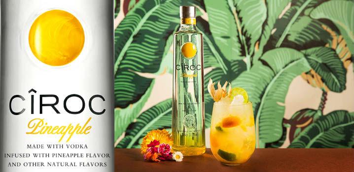 CÎROC, el vodka francés ultra premium, lanza Pineapple