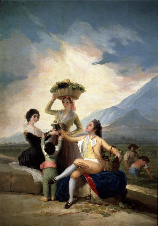 """""""La vendimia, o El Otoño"""" (1786), de Francisco de Goya y Lucientes"""
