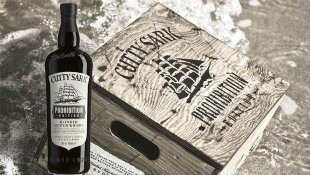 Cutty Sark Prohibition Edition, el único scotch whisky de la Ley Seca