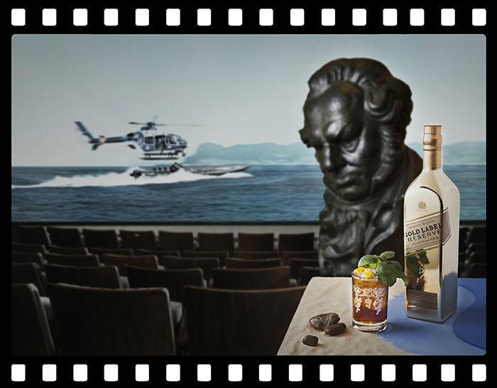 Los cinco cócteles estrella de los premios Goya, por Johnnie Walker Gold Label Reserve