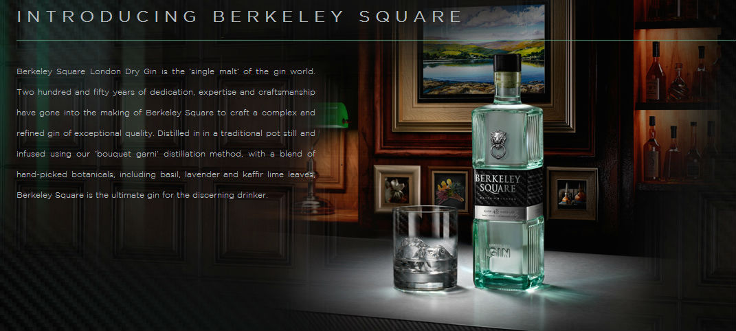 "Berkeley Square Gin, en ""The Gin Collection"""
