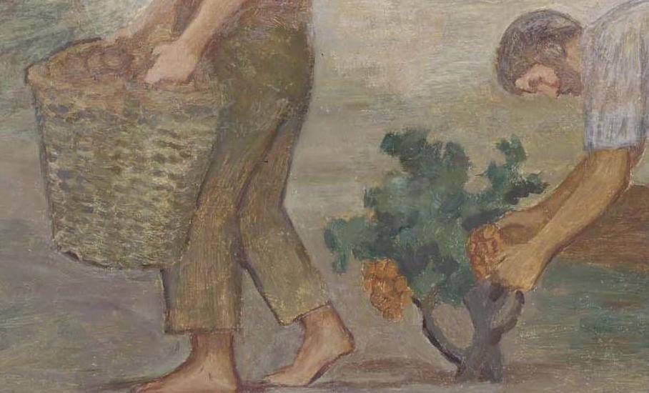 """""""Viña"""" (1905-1906), de Joaquín Torres García"""