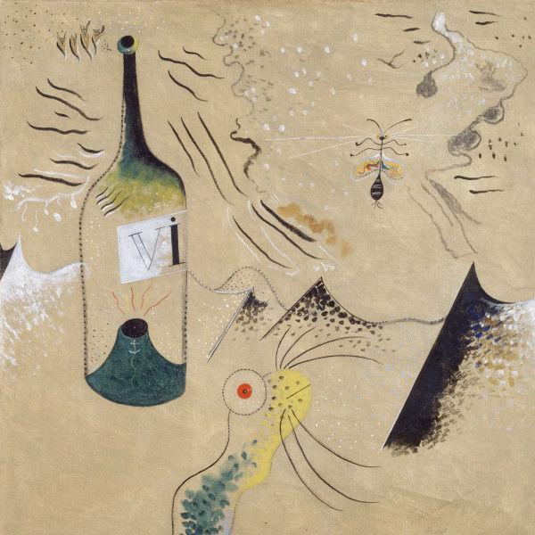 """""""La botella de vino"""" (1924), de Joan Miró i Ferrà"""