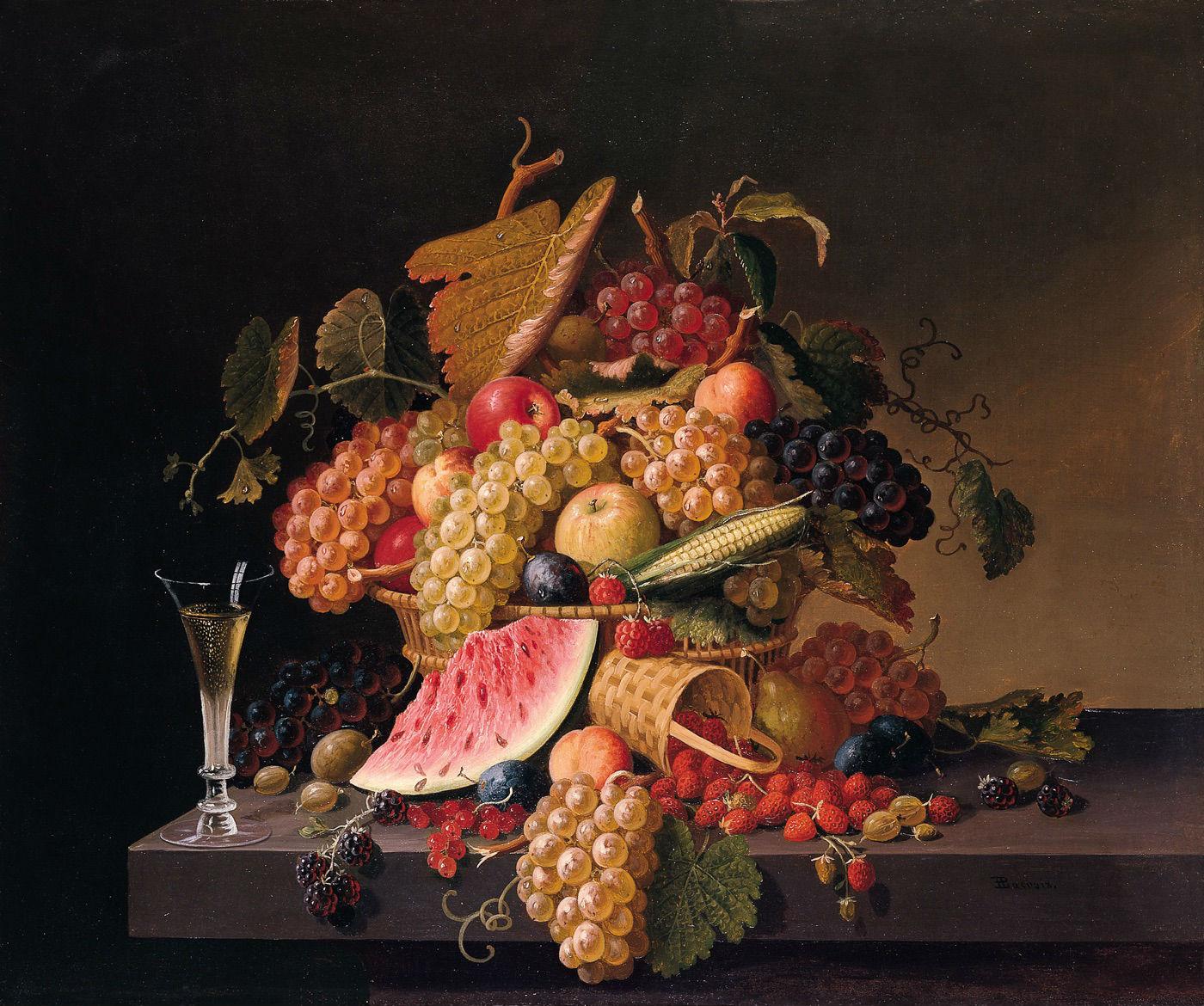 """Abundancia del verano"" (1865), de Paul Lacroix"