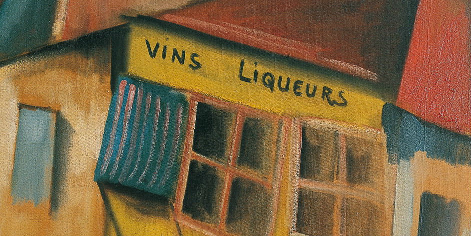 """Vinos, licores"" (1910), de Maurice de Vlaminck"